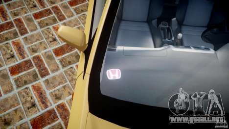 Honda Civic Type R 2005 para GTA 4 interior