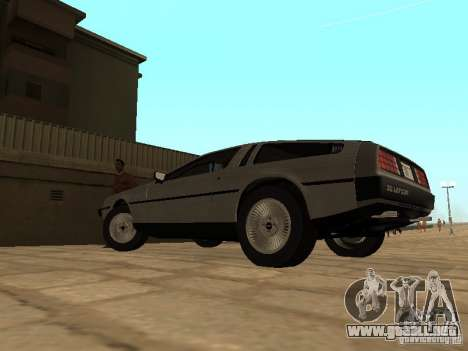 DeLorean DMC-12 1982 para GTA San Andreas left