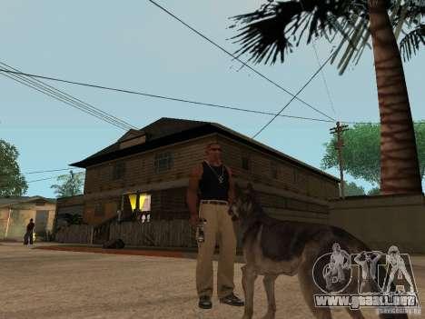 Perro en GTA San Andreas para GTA San Andreas segunda pantalla