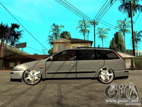Fiat Marea Weekend para GTA San Andreas left