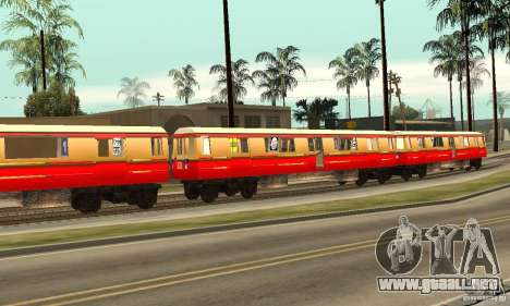 Liberty City Train DB para GTA San Andreas left