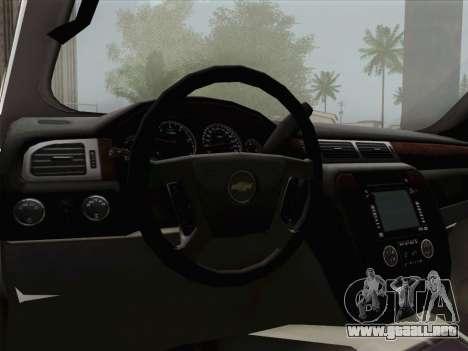 Chevrolet Silverado 2500HD 2013 para el motor de GTA San Andreas