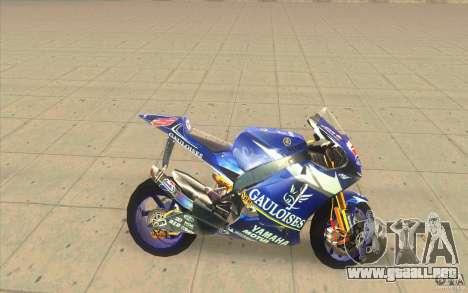 Yamaha M1 Edwards para GTA San Andreas left