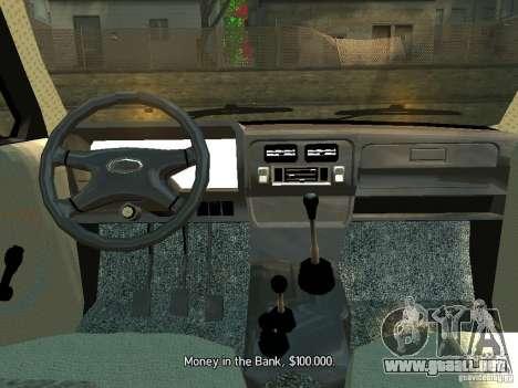 Vaz 2131 Niva para GTA 4 visión correcta