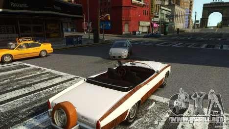 Buccaneer Final para GTA 4 vista hacia atrás
