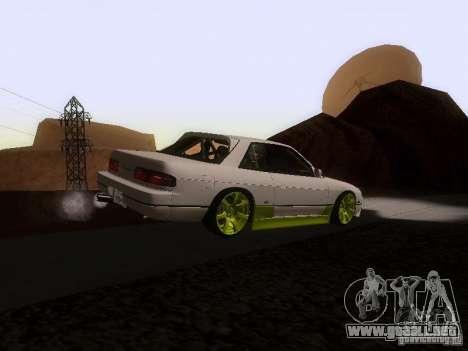 Nissan Silvia S13 Drift Style para GTA San Andreas vista posterior izquierda