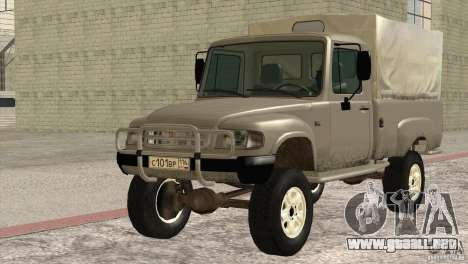 GAS 2308 Ataman para GTA San Andreas left