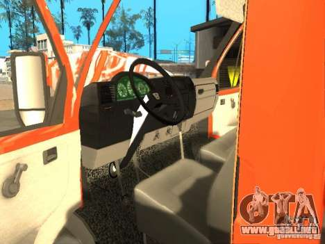 Gacela 33022 para GTA San Andreas left