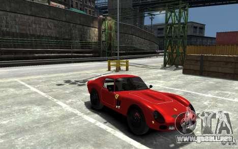 Ferrari 250 Le Mans para GTA 4 vista hacia atrás