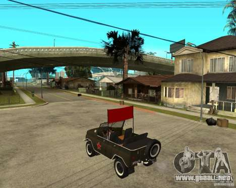 UAZ 469 desfile para GTA San Andreas left