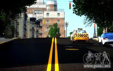 Different HD Roads para GTA 4 segundos de pantalla