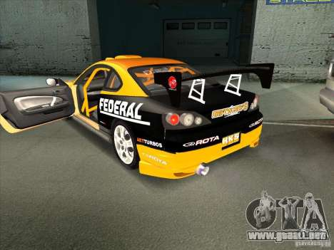 Nissan Silvia S15 Tunable KIT C1 - TOP SECRET para la visión correcta GTA San Andreas