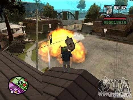 Inodoro para GTA San Andreas sucesivamente de pantalla