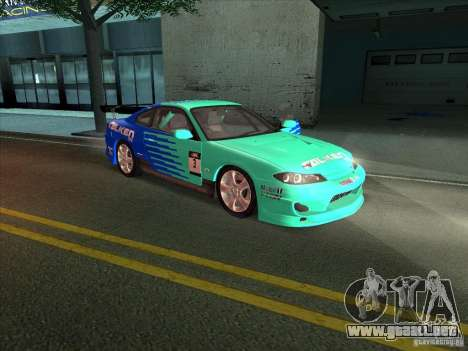 Nissan Silvia S15 Tunable KIT C1 - TOP SECRET para visión interna GTA San Andreas