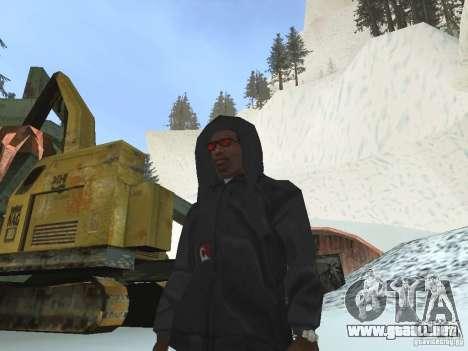 Sudadera con capucha para GTA San Andreas segunda pantalla