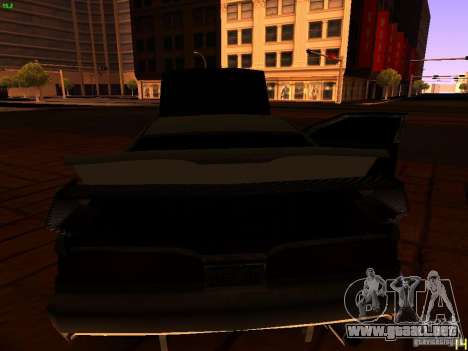 New Racing Style Fortune para vista inferior GTA San Andreas
