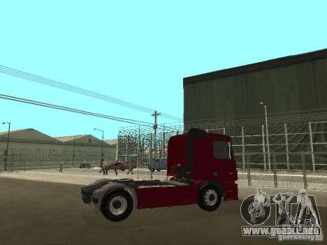 Mercedes Actros Tracteur 3241 para la visión correcta GTA San Andreas