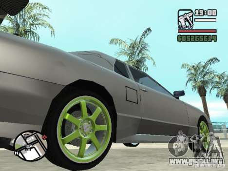 Elegy First Update By reNz para GTA San Andreas left