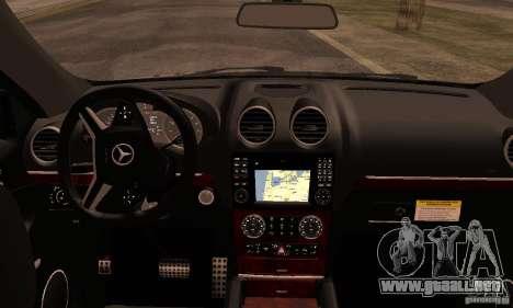 Mercedes-Benz ML63 AMG Brabus para la visión correcta GTA San Andreas