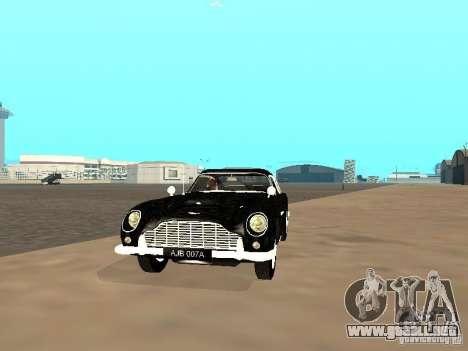 Aston Martin DB5 para GTA San Andreas left
