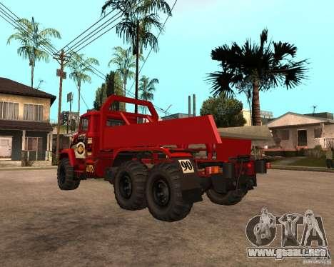 KrAZ-6322 juicio para la visión correcta GTA San Andreas