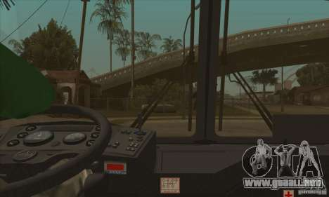 MAZ-152A para la vista superior GTA San Andreas