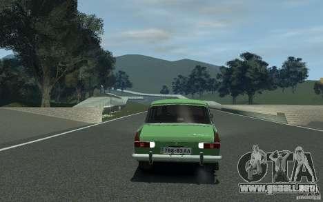 Moskvich 412 para GTA 4 visión correcta