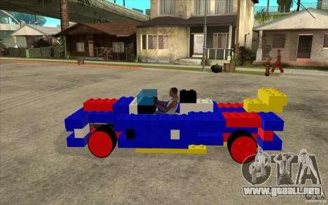 LEGO móvil para GTA San Andreas left