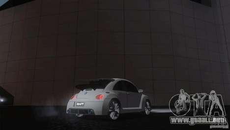 Volkswagen Beetle Tuning para GTA San Andreas vista posterior izquierda