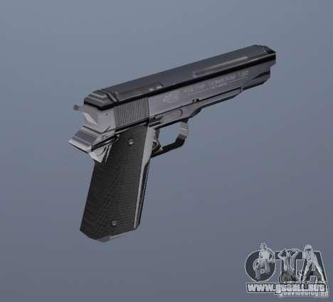 La nueva pistola para GTA Vice City segunda pantalla