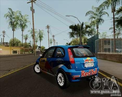 Ford Fiesta ST Rally para la visión correcta GTA San Andreas