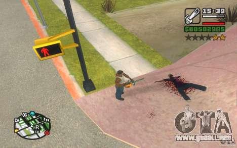 Nuevos efectos para GTA San Andreas segunda pantalla