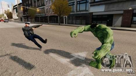Script de Hulk para GTA 4 sexto de pantalla