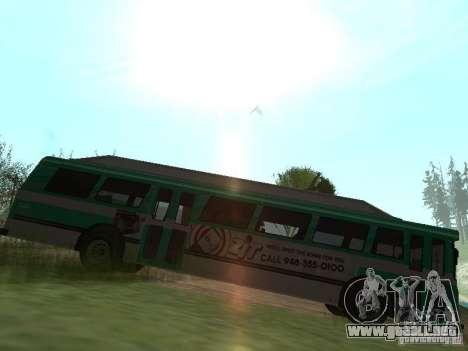 Bus de GTA 4 para GTA San Andreas left