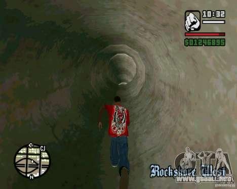 Salta sobre la autopista, en Las Venturase para GTA San Andreas séptima pantalla