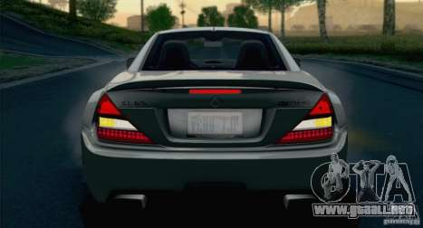 Mercedes-Benz SL65 AMG Black Series para vista lateral GTA San Andreas