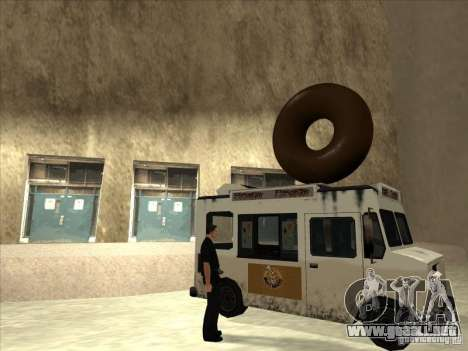 Donut Van para GTA San Andreas left