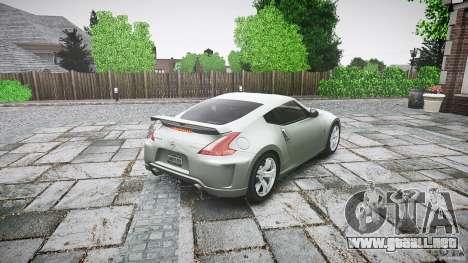 Nissan 370Z Nismo v1 para GTA 4 vista lateral