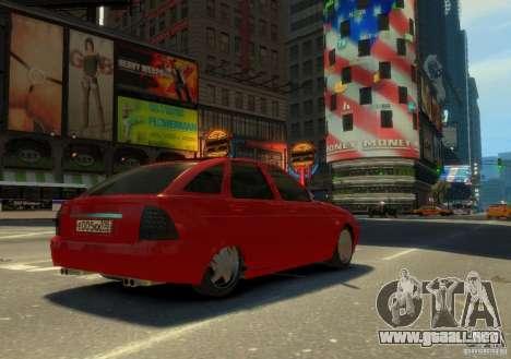 Hatchback LADA priora para GTA 4 left