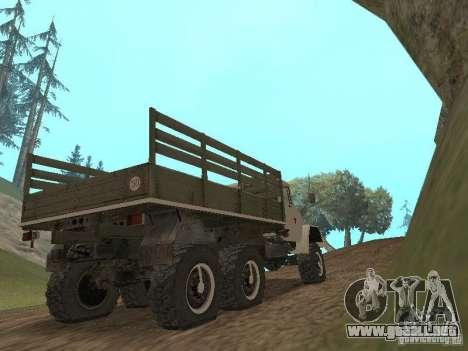 ZIL 131 Main para la visión correcta GTA San Andreas