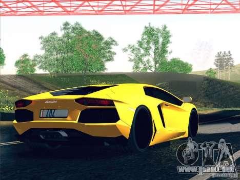 Lamborghini Aventador LP700-4 2011 V1.0 para el motor de GTA San Andreas