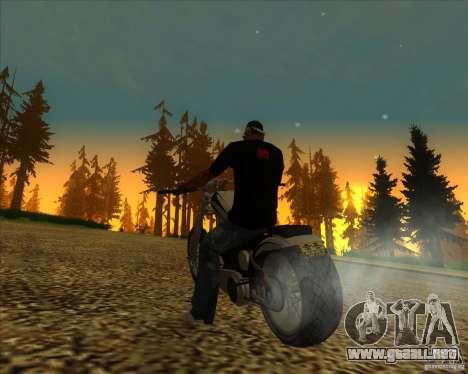 Hexer bike para vista lateral GTA San Andreas