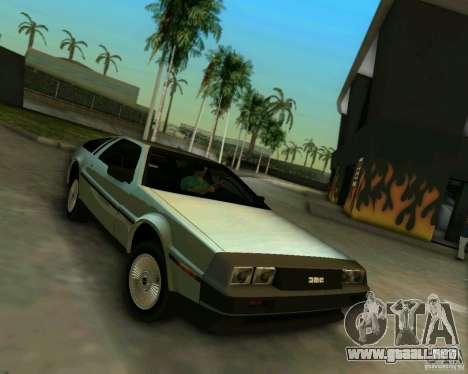 DeLorean DMC-12 V8 para GTA Vice City left