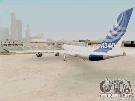 Airbus A-340-600 para la visión correcta GTA San Andreas