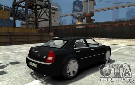 Chrysler 300C para GTA 4 visión correcta