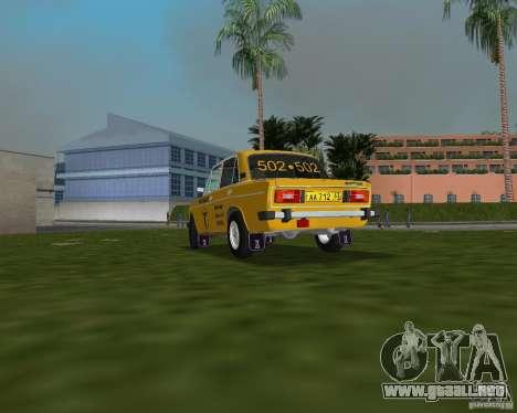 Taxi VAZ 2106 para GTA Vice City left