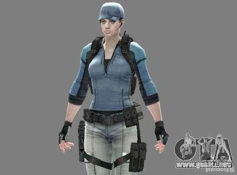 De hombres y mujeres nuevas skins para el ejérci para GTA San Andreas tercera pantalla