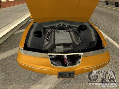 Lincoln Mark VIII 1996 para la visión correcta GTA San Andreas