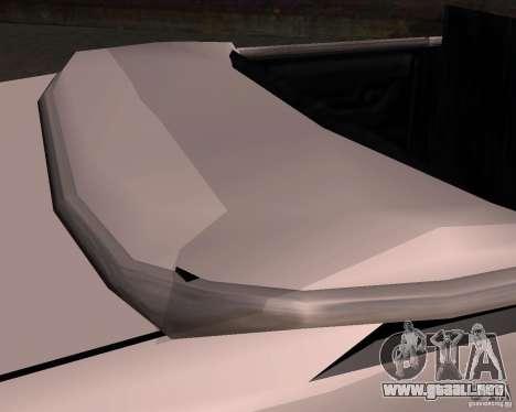 Taxi Cabriolet para la vista superior GTA San Andreas