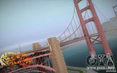 New Golden Gate bridge SF v1.0 para GTA San Andreas
